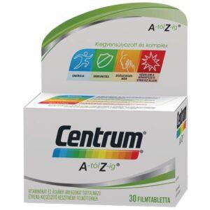 Centrum A-Z-ig Multivitamin filmtabletta - 30db