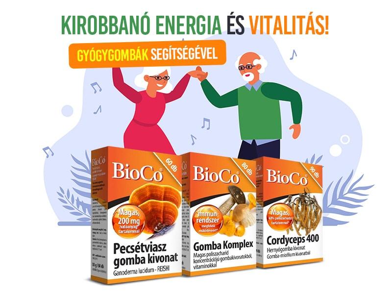 BioCo gyógygombákkal támogassa egészségét