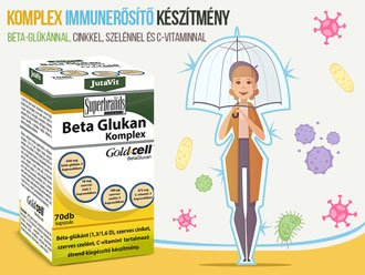 JutaVit Beta Glükan Komplex Immunerősítés
