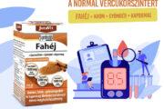 Jutavit Fahéj – segítheti a vércukorszint egészséges beállítását