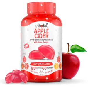 Vitaful Apple Cider Almaecet gumivitamin - 120db