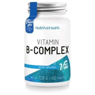 Nutriversum Vitamin B-komplex tabletta - 60db
