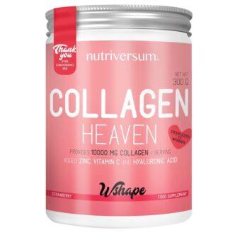 Nutriversum Wshape Collagen Heaven eper por - 300g