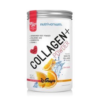 Nutriversum Wshape Collagen+ narancs - 600g