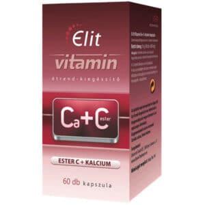 Vita Crystal E-lit Vitamin - Kalcium + Cester C kapszula - 60db