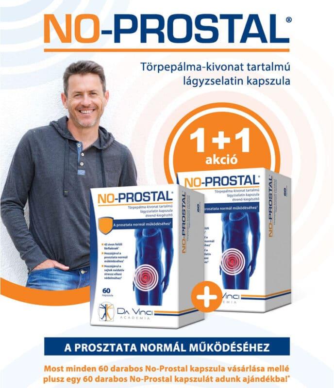 No-Prostal hozzájárul a prosztata normál működéséhez