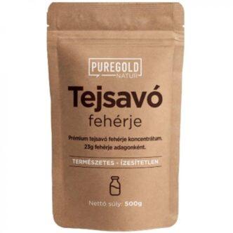 Pure Gold Tejsavó Protein natúr italpor - 500g