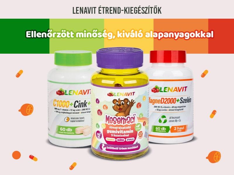 Lenavit készítményekkel erősítse az egész család immunrendszerét!
