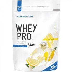 Nutriversum Pure Whey Pro citrom joghurt - 1000g