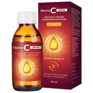 Novo C Plus Liquid Liposzómás C-vitamin 1000mg - 150ml