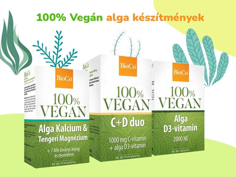 BioCo 100% VEGAN alga készítmények egészségünk szolgálatában!