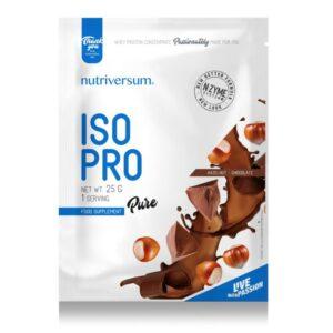 Nutriversum PURE Iso Pro mogyoró-csokoládé - 25g