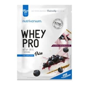 Nutriversum Pure Whey Pro áfonyás sajttorta - 30g