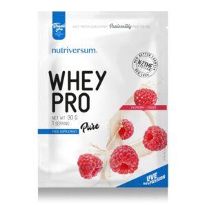 Nutriversum Pure Whey Pro málna-joghurt - 30g