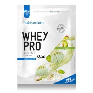 Nutriversum Pure Whey Pro pisztácia - 30g