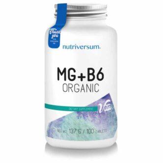 Nutriversum VITA MG+B6 tabletta - 100db