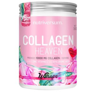 Nutriversum Wshape Collagen Heaven rózsa-limonádé por - 300g