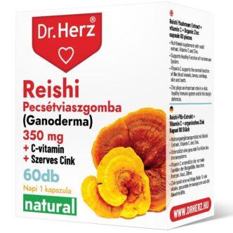 Dr. Herz Reishi + C-vitamin + Szerves Cink kapszula - 60db