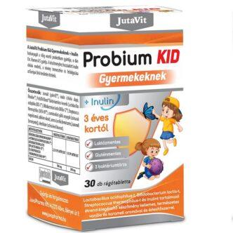 JutaVit Probium Kid Gyermekeknek rágótabletta - 30db