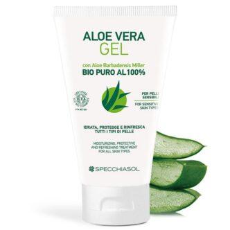 Specchiasol 100%-os Aloe Vera gél - 150ml